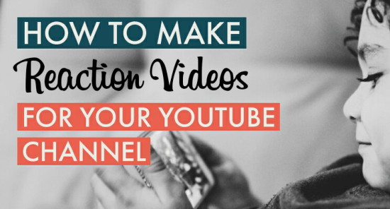 Make reaction videos cover picture