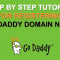 Step by step tutorial for registering GoDaddy domain name