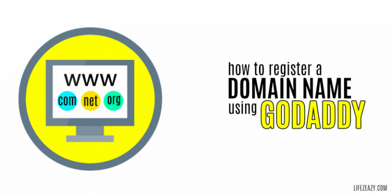 How to Register a Domain Name Using GoDaddy Cover