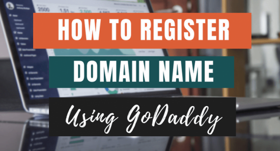 This is a blog post cover for Godaddy post