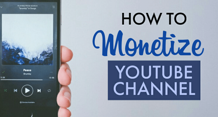 Monetize YouTube channel Cover