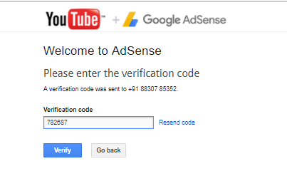 Adsense verification page 2