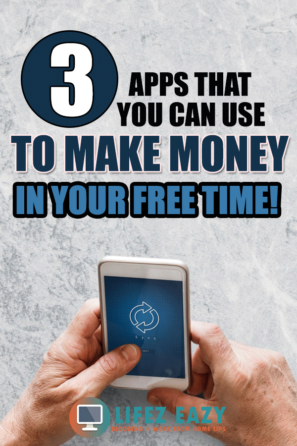 Apps to make money Pinterest pin