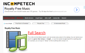 how to find non copyrighted music for youtube