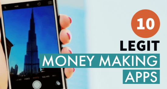 Legit money making apps