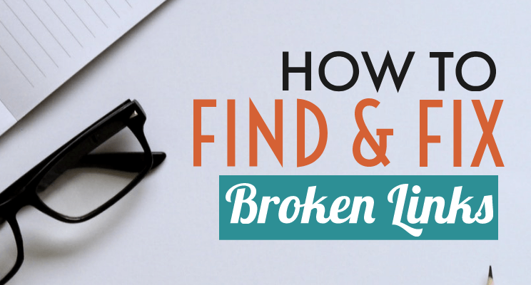 Find Fix broken links post cover