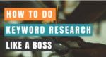 How to do keyword research in SEO cover