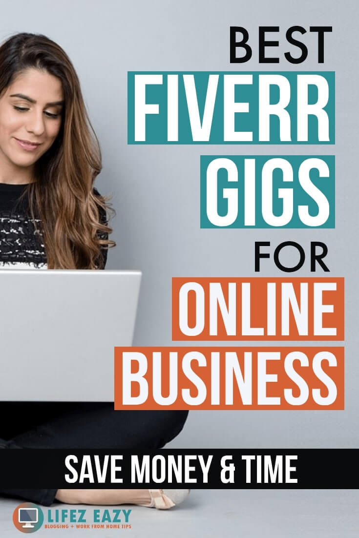 Best Fiverr gigs for business Pinterest pin