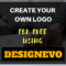 create your own logo for free using designevo