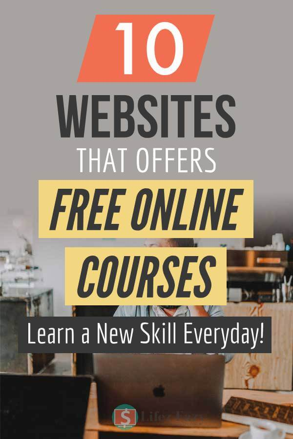Websites to learn new skills pinterest pin