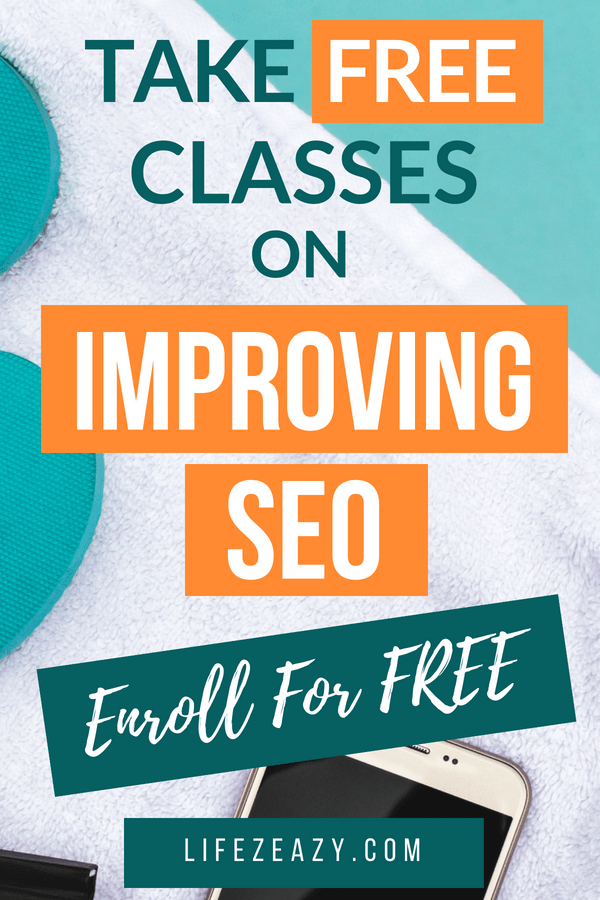 Learn SEO online for free using Skillshare Pinterest Pin