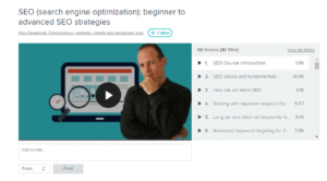SEO (Search Engine Optimization): Beginner To Advanced SEO Strategies