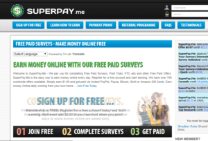 Superpay Me website