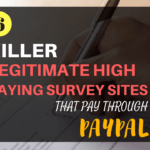 6 Kick-Ass Survey Sites That Pay Through PayPal (Make $100-$200/mo)