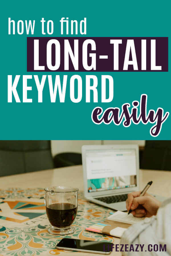 How To Find Long-Tail Keywords pin