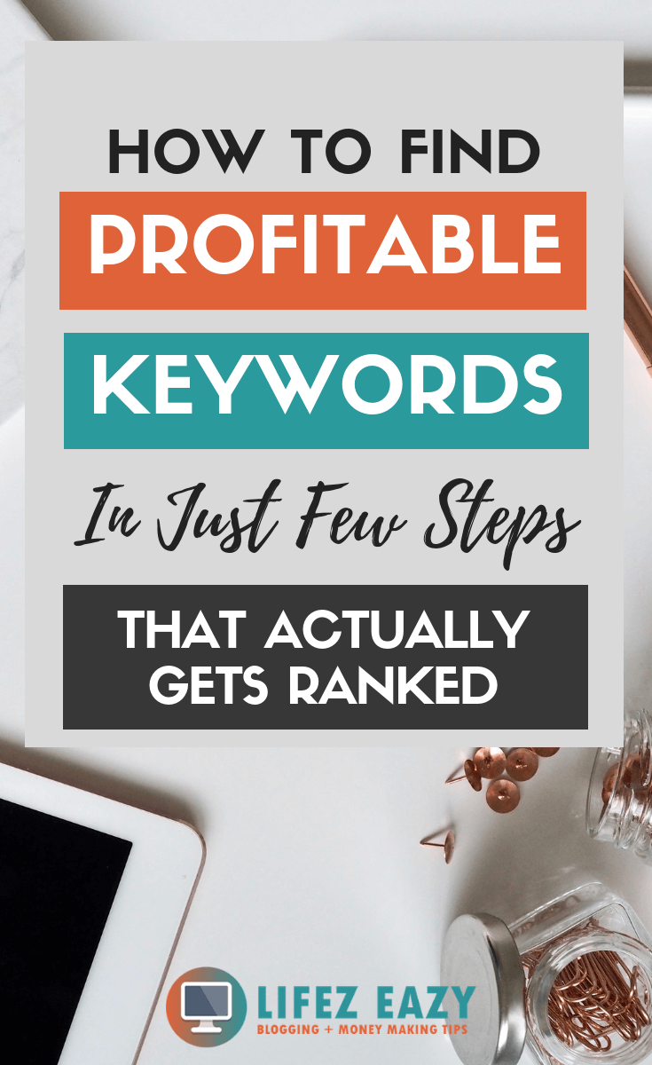 Learn how to find long-tail keywords that can be ranked easily on Google.