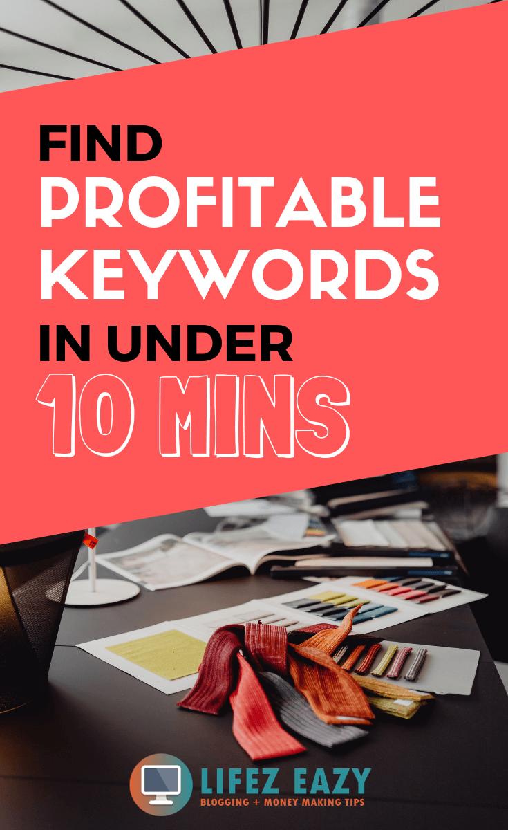 Find profitable keywords - Learn how you can find profitable keywords in under 10 minutes that can be ranked on Google. #findprofitablekeywords #keywordresearch