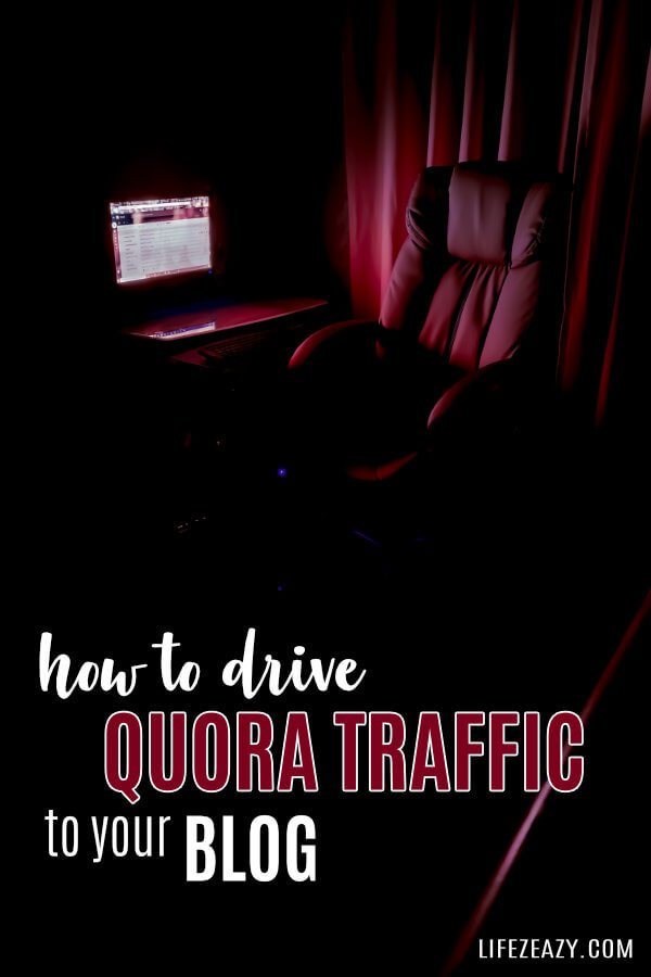 How To Get Targeted Traffic from Quora Pinterest Pin
