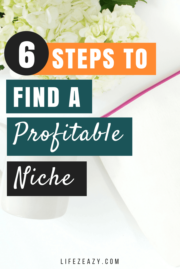 How to find a profitable niche Pinterest pin