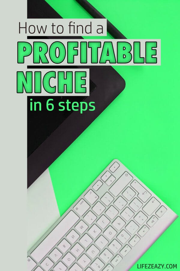 How to find a Profitable Niche Pin