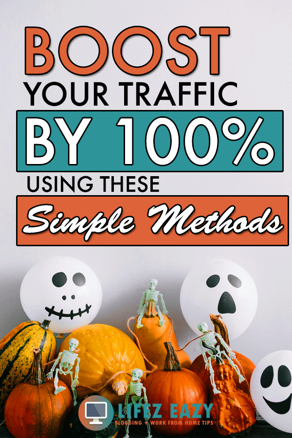 How to get blog traffic Pinterest pin