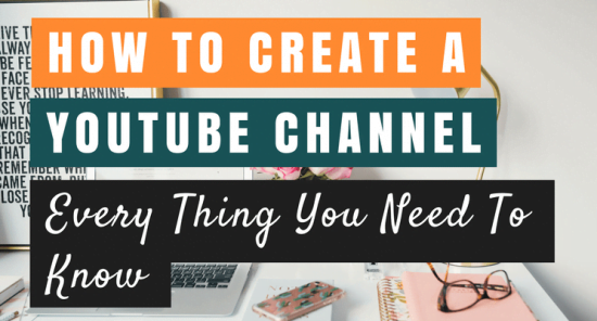 How to start a YouTube channel cover picture