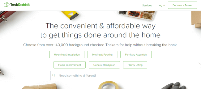 TaskRabbit website