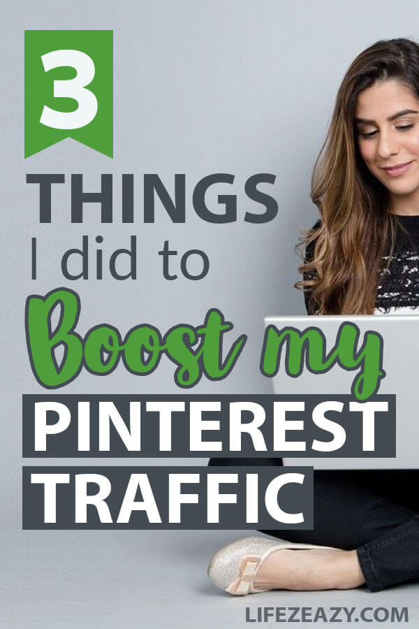 Tips to boost Pinterest traffic pin