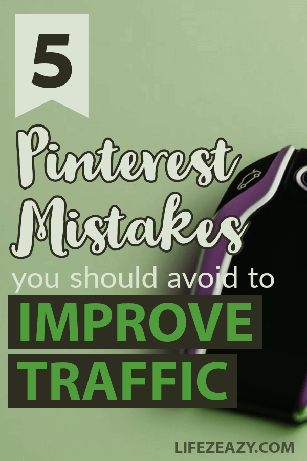 Pinterest Mistakes to avoid Pin