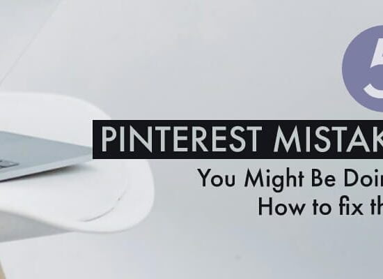 Pinterest mistakes cover