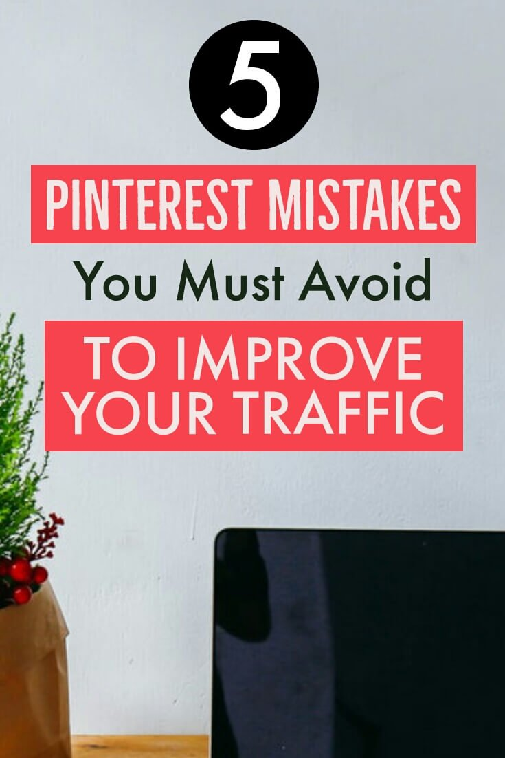 Pinterest mistakes pin