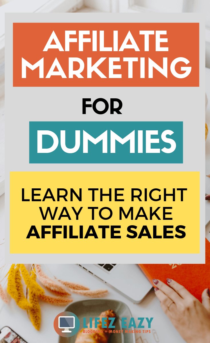 Affiliate Marketing for Dummies Guide - Learn the exact steps to make affiliate sales from your blog. This Affiliate Marketing guide is for all beginners who doesn't have any idea about Affiliate Marketing. #affiliatemarketing #affiliatemarketingfordummies
