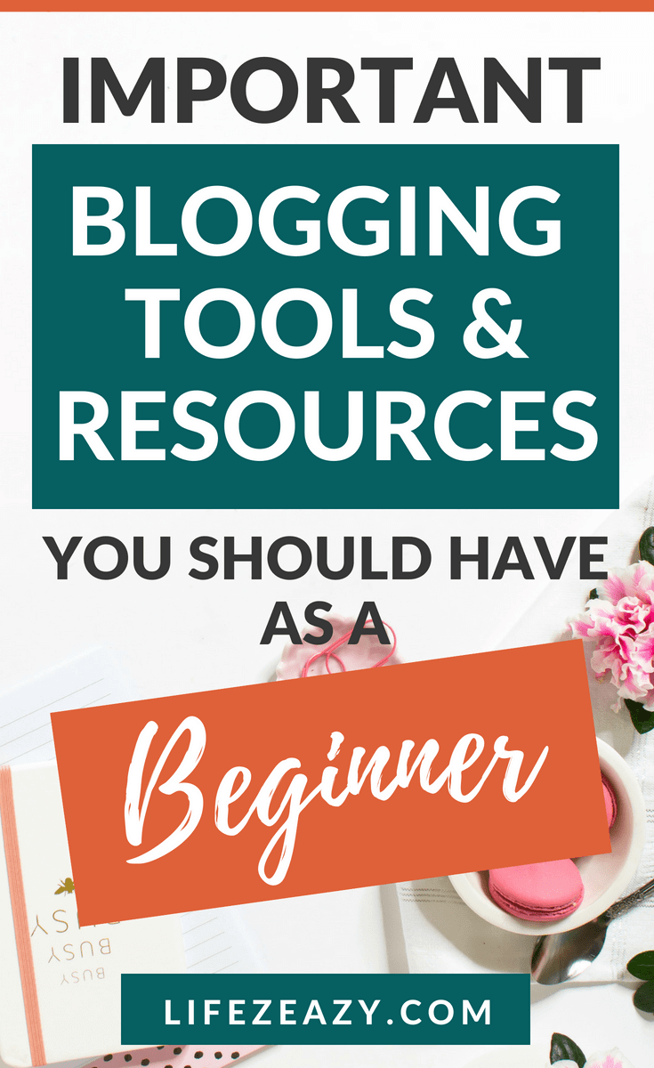 If you are a beginner blogger and doesn't know which blogging tools and resources are best for blogging. Then check out this blog post to find out 15 important blogging tools and resources that are must for blogging #blogging #bloggingtools&resources
