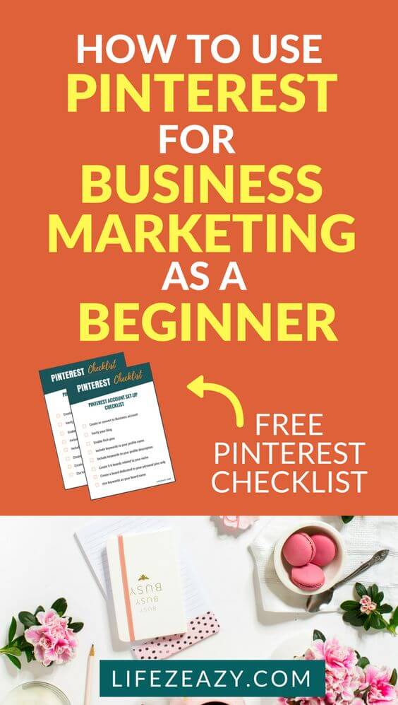 Pinterest for marketing pin