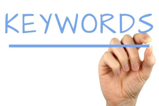 This is a pic of keyword research