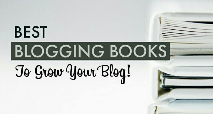 Blogging books post cover