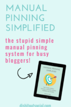 Manual Pinning Simplified ebook