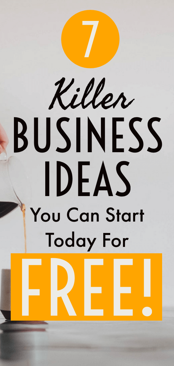 Pinterest pin for business ideas