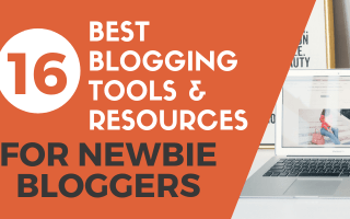 Best blogging tools & resources blog post cover