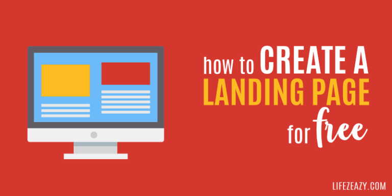 How to Create Landing Page For Free on Wordpress Cover