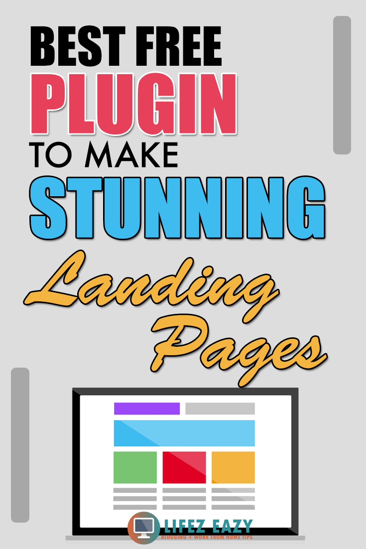 Create Landing Page Pinterest Pin
