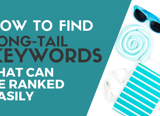 Find long tail keyword blog post cover