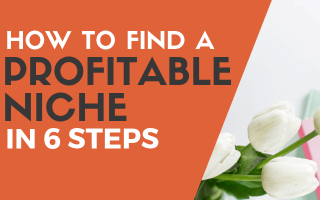 Find profitable niche blog post cover