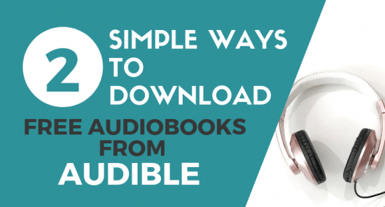 Download free audibles blog post cover