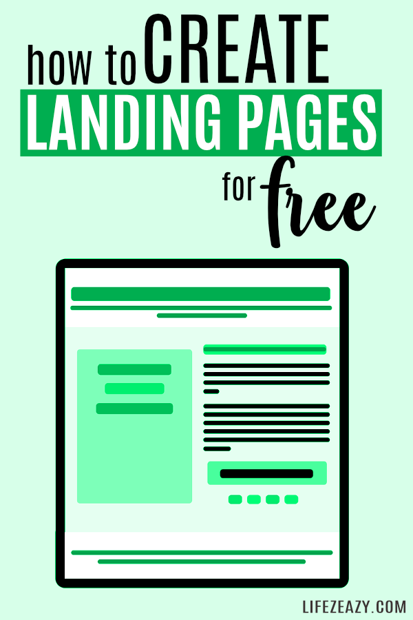 How to Create Landing Page For Free on WordPress