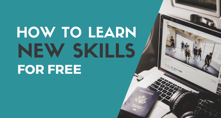 Learn new skills blog post cover