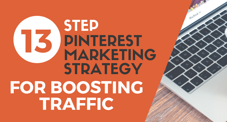 Pinterest marketing strategy blog post cover