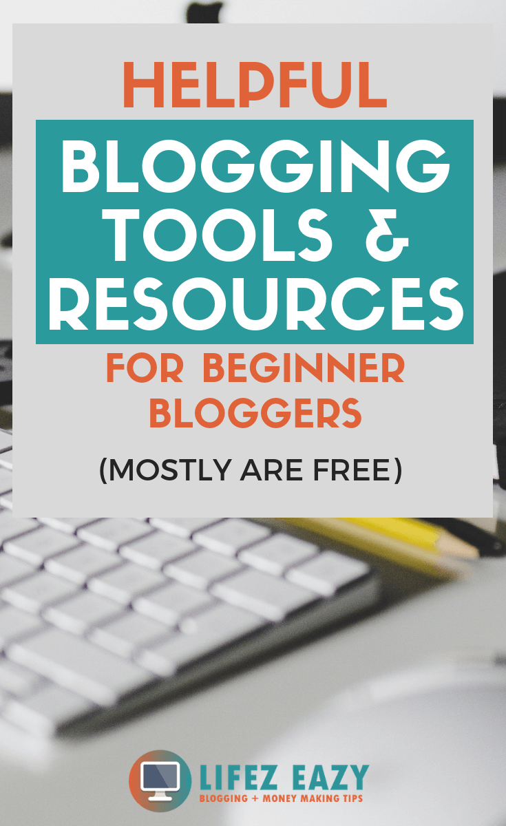 Check out list of blogging tools & resources for newbie bloggers #bloggingtools #bloggingresources