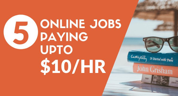 Online home job blog post cover
