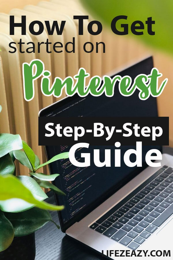 How to Get Started On Pinterest Pin